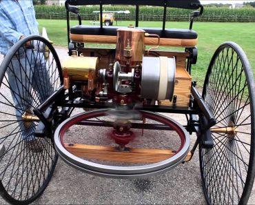 Criado Em 1886, Este é o Primeiro Automóvel Da História e Ainda Hoje Funciona 5