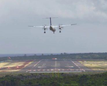 Arrepiante Tentativa De Aterragem Na Ilha Do Pico Num Avião Da Sata 3
