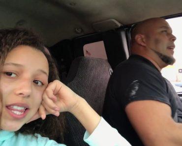 Filha Grava Pai a Cantar Enquanto Conduz e o Resultado é Maravilhoso 8