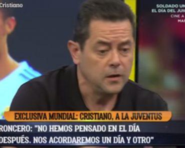 Jornalista Espanhol Deixa Mensagem Emocionante Para Cristiano Ronaldo 1