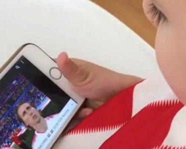 Este Vídeo Do Filho De Dejan Lovren é Candidato Ao Mais Enternecedor Do Mundial 3