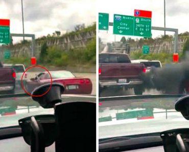 Condutor Vinga-se Após Automobilista Se Ter Recusado a Ceder Passagem e Insultá-lo Com o Dedo Do Meio 2
