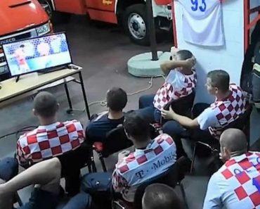 Assistiam Ao Jogo Da Croácia, Alarme Tocou. Bombeiros Reagiram Assim 9