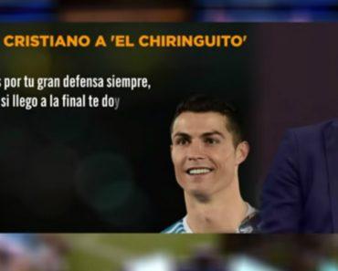 """A Emocionante Carta De Cristiano Ao Programa """"El Chiringuito"""": """"Quero Despedir-me De Vocês De Uma Forma Especial"""" 8"""