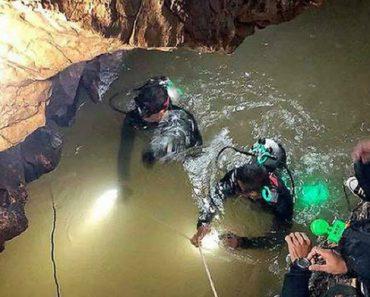 Video Inédito Revela Em Detalhe o Resgate No Interior Da Gruta Na Tailândia 5
