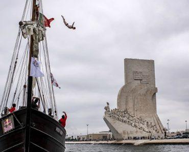 Red Bull Cliff Diving: Antes Dos Açores, Houve Saltos Em... Lisboa 9