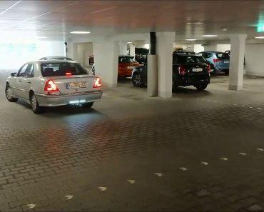 Condutor Mostra Como Funciona o Exclusivo Sistema De Sensores De Estacionamento Do Seu Mercedes 7