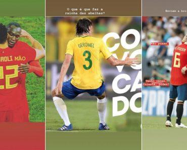 Humorista Português Andou a Brincar Com Os Nomes De Jogadores Do Mundial Nas Stories Do Instagram 6