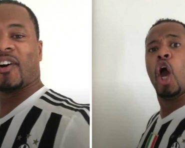 Ver Para Crer: Patrice Evra Em Modo Bocelli Para Dar As Boas-Vindas a Cristiano Ronaldo 5