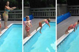 Criança Aprende Da Pior Maneira Como Não Se Deve Mergulhar 6