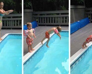Criança Aprende Da Pior Maneira Como Não Se Deve Mergulhar 3