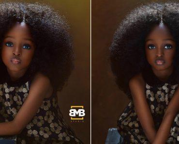 A Invulgar Beleza De Uma Criança Nigeriana Torna-se Viral 5