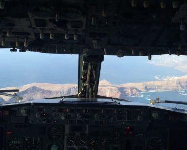 Vídeo Gravado No Cockpit Mostra Aterragem Tensa No Aeroporto Da Madeira 9