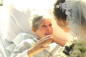 Noivos Levam Casamento Ao Hospital Para Que a Avó Doente Não Perdesse a Cerimónia 10