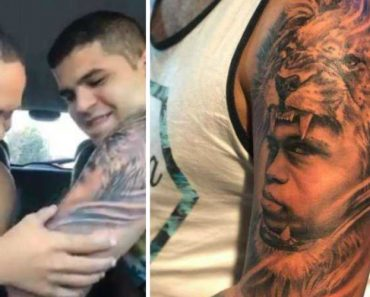 Jovem Com Síndrome De Down Tem Emocionante Reação Ao Ver o Seu Rosto Tatuado No Braço Do Irmão 8
