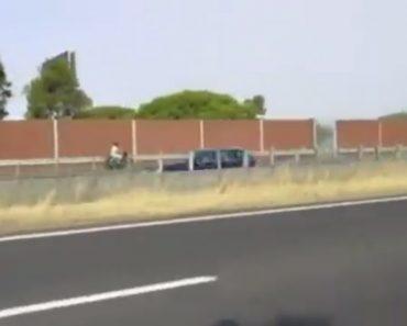 Vídeo Mostra Motociclista Em Contramão Na A2 Em Corroios 2