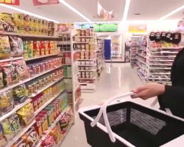 Japão Cria Sistema Em Cestas De Compras Inteligentes Que Agiliza o Atendimento Em Supermercados 7
