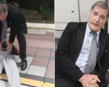 Passageiro Arrasta Homem Para Fora Do Metro Após Sofrer Convulsão Para Não Atrasar Viagem 3