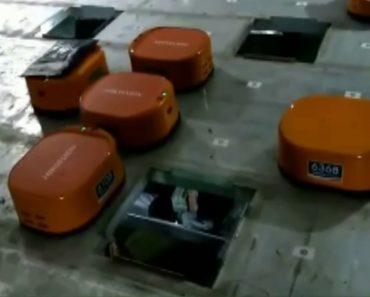 Impressionante Sistema De Pequenos Robôs Faz a Distribuição De 200 Mil Encomendas Por Dia 2