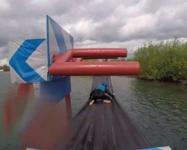 Passar Esta Prova De Obstáculos Móvel Não Foi Fácil Mas Foi Cómico 4