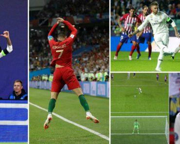 Polémica Instalada Em Madrid Após Sergio Ramos Festejar Golo Ao Estilo De Cristiano Ronaldo 2