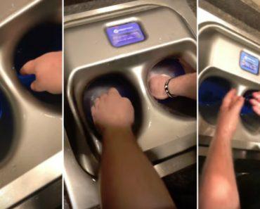 Este Sistema De Lavar As Mãos é Diferente De Tudo o Que Já Viu 7