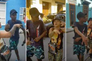 Jovens Captam Atenção De Turistas Com Fantástico Rap Improvisado 10