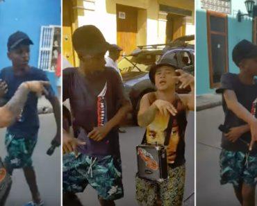 Jovens Captam Atenção De Turistas Com Fantástico Rap Improvisado 3