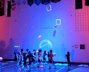 Crianças Divertem-se Com Nova Experiência Interativa No Ginásio Da Escola 1