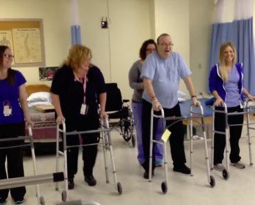 Enfermeiras Fazem Divertida Coreografia Com Paciente Que Sofreu AVC Por Saberem Que Ele Adora Dançar 8