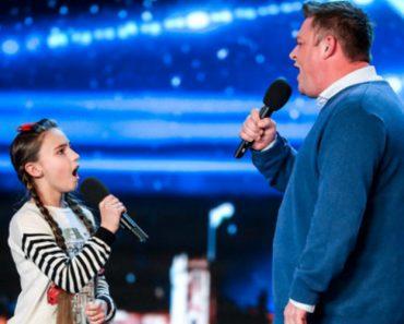 Pai e Filha Fazem Fenomenal Atuação Em Concurso De Talentos 3