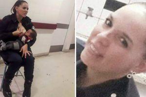 Polícia Dá De Mamar A Bebé Faminto Num Hospital 10