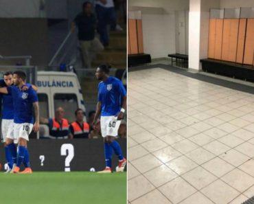 Jogadores Do Feirense Seguem Exemplo Dos Japoneses e Deixam Balneário a Brilhar Em Guimarães 7