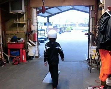 Com 12 Anos De Idade é Assim Que Este Menino Estaciona o Seu Kart 4