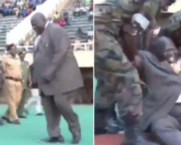 Vice-Primeiro-Ministro Do Uganda Cai Após Dar Pontapé De Saída Do Campeonato 3