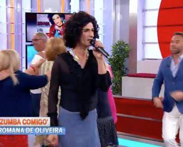 Romana De Oliveira Cantou e Encantou Na CMTV, Cuidado Maria Leal 3