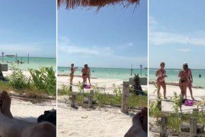 Homem Faz Zoom Na Praia Durante Gravação De Video e Acaba Por Filmar Os Seus Últimos Segundos De Vida 10
