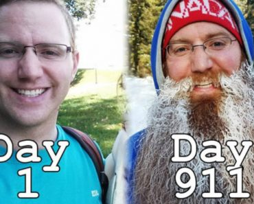 Homem Filma o Crescimento Da Sua Barba Durante Viagem Que Durou 2 Anos e Meio 1