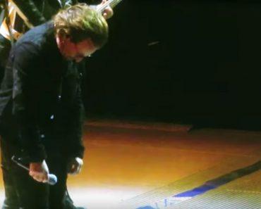 O Momento Em Que Bono Dos U2 Perdeu a Voz Durante Concerto 3