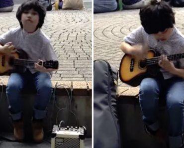 Talentoso Menino De 11 Anos Faz Incrível Interpretação Ao Tocar Ukulele 6
