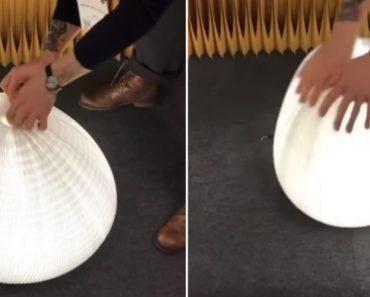 Este Candeeiro é Tão Flexível Que Permite Mudar o Seu Formato As Vezes Que Quiser 8