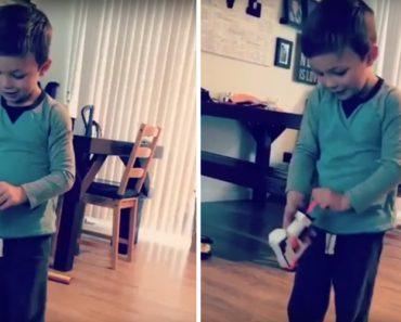 Disparatada Ideia De Criança Arruína Entusiasmo Com Brinquedo Novo 6