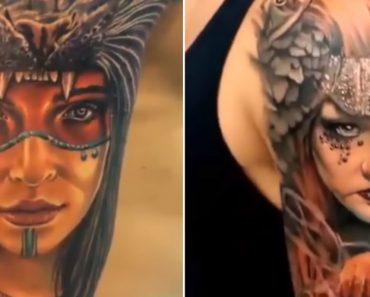 Elaboradas Tatuagens Em Três Dimensões Que Criam Fantásticas Ilusões De Ótica 7