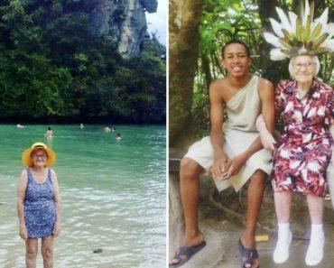 Aos 91 Anos Viaja Sozinha Pelo Mundo e Partilha Tudo Na Sua Conta Do Instagram 7