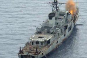 Filmagem Capta o Afundamento Do Navio De Guerra Afonso Cerqueira Na Madeira 10