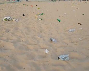 """Como Ficou Uma Praia Portuguesa Após a Passagem De Um """"Furacão""""... Humano 4"""
