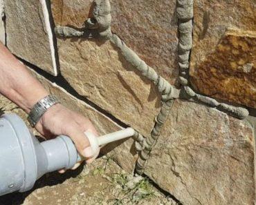 Engenhocas Cria o Seu Próprio Sistema Para Fazer Os Acabamentos Em Muro De Pedra 6