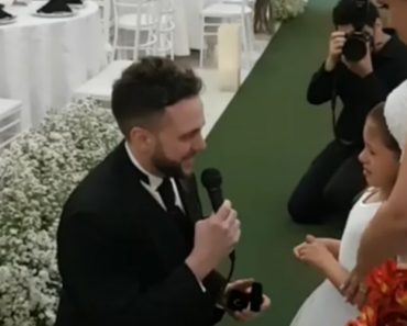 """Vídeo De Noivo a Pedir à Sua Enteada Para Ser """"a Sua Filha Para Sempre"""" Está Emocionar a Internet 1"""