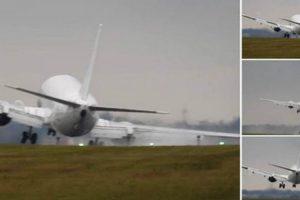 Vídeo Mostra Aterragem Impressionante Que Quase Terminou Em Tragédia 10