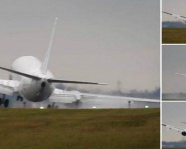 Vídeo Mostra Aterragem Impressionante Que Quase Terminou Em Tragédia 3
